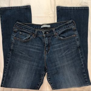Levi's 515 Boot Cut Flap Back Pockets - Size 8 S/C